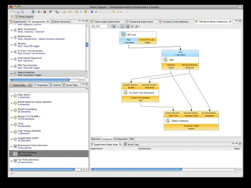 Tesla-Client mit graphischem Workflow-Editor